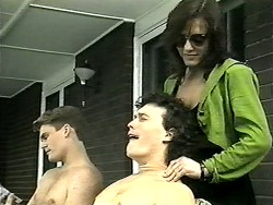 Adam Willis, Rory Marsden, Christina Alessi in Neighbours Episode 1341