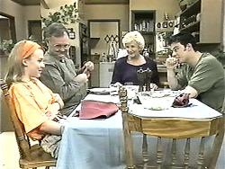 Gemma Ramsay, Harold Bishop, Madge Bishop, Matt Robinson in Neighbours Episode 1341