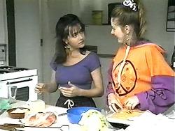 Christina Alessi, Melanie Pearson in Neighbours Episode 1341