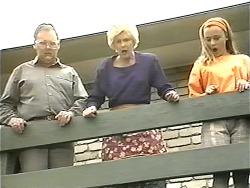 Harold Bishop, Madge Bishop, Gemma Ramsay in Neighbours Episode 1341