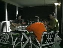 Rory Marsden, Adam Willis, Paul Robinson in Neighbours Episode 1341