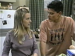Melissa Jarrett, Josh Anderson in Neighbours Episode 1342