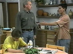 Todd Landers, Jim Robinson, Josh Anderson in Neighbours Episode 1342