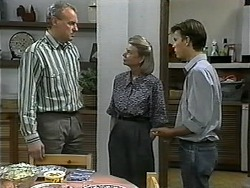 Jim Robinson, Helen Daniels, Todd Landers in Neighbours Episode 1343