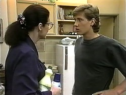 Dorothy Burke, Ryan McLachlan in Neighbours Episode 1343