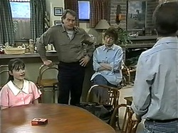 Cody Willis, Doug Willis, Pam Willis, Todd Landers in Neighbours Episode 1343
