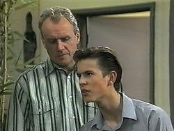 Jim Robinson, Todd Landers in Neighbours Episode 1343