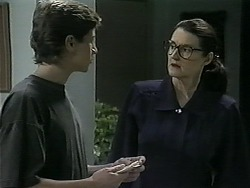 Ryan McLachlan, Dorothy Burke in Neighbours Episode 1343