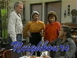 Jim Robinson, Helen Daniels, Pam Willis, Doug Willis in Neighbours Episode 1343