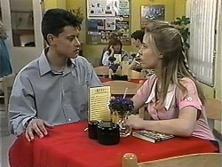 Josh Anderson, Melissa Jarrett in Neighbours Episode 1344