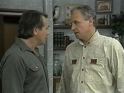 Doug Willis, Jim Robinson in Neighbours Episode 1344