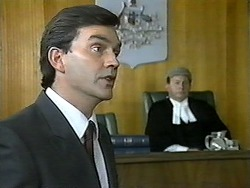 Eric Jensen, Judge Latimer in Neighbours Episode 1344
