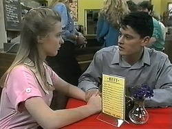 Melissa Jarrett, Josh Anderson in Neighbours Episode 1344
