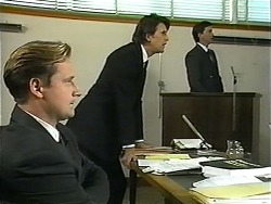 Stephen Evans, Brian Lewis, Eric Jensen in Neighbours Episode 1344