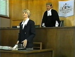 Court Officer, Judge Latimer in Neighbours Episode 1344