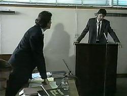 Brian Lewis, Joe Mangel in Neighbours Episode 1345