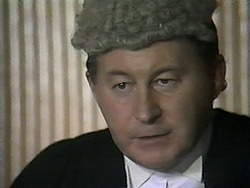 Judge Latimer in Neighbours Episode 1345