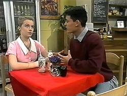Melissa Jarrett, Josh Anderson in Neighbours Episode 1346