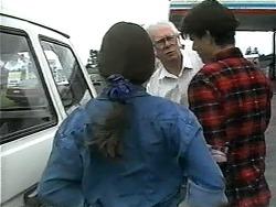 Driver, Cody Willis, Todd Landers in Neighbours Episode 1346