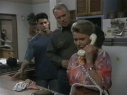 Josh Anderson, Jim Robinson, Helen Daniels in Neighbours Episode 1346