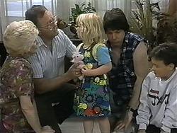 Madge Bishop, Harold Bishop, Sky Mangel, Joe Mangel, Toby Mangel in Neighbours Episode 1346