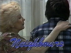 Madge Bishop, Joe Mangel in Neighbours Episode 1346