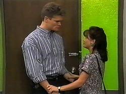 Adam Willis, Caroline Alessi in Neighbours Episode 1347