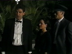 Father, Caroline Alessi, Adam Willis in Neighbours Episode 1347