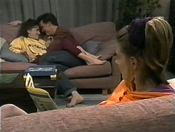 Christina Alessi, Paul Robinson, Melanie Pearson in Neighbours Episode 1348
