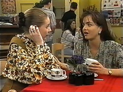 Melanie Pearson, Caroline Alessi in Neighbours Episode 1348