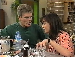 Adam Willis, Caroline Alessi in Neighbours Episode 1348