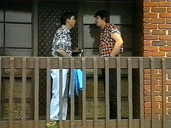 Eric Jensen, Joe Mangel in Neighbours Episode 1348