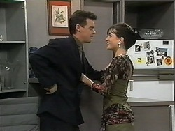 Paul Robinson, Christina Alessi in Neighbours Episode 1348