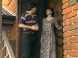 Joe Mangel, Sandy Jensen in Neighbours Episode 1348