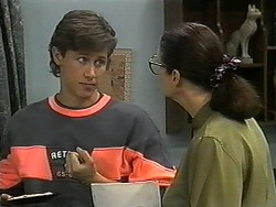Ryan McLachlan, Dorothy Burke in Neighbours Episode 1349