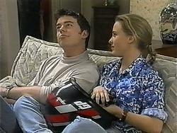 Matt Robinson, Gemma Ramsay in Neighbours Episode 1349