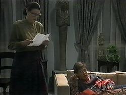 Dorothy Burke, Ryan McLachlan in Neighbours Episode 1349