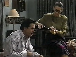 Lefty Benson, Dorothy Burke in Neighbours Episode 1350