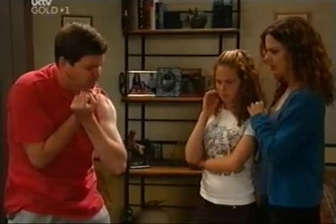 David Bishop, Serena Bishop, Liljana Bishop in Neighbours Episode 4501