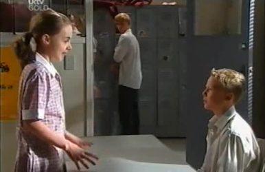 Summer Hoyland, Boyd Hoyland, Declan Sands in Neighbours Episode 4519