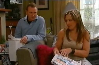 Max Hoyland, Steph Scully in Neighbours Episode 4551