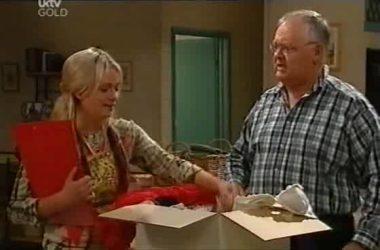 Sky Mangel, Harold Bishop in Neighbours Episode 4551