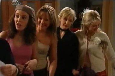 Libby Kennedy, Steph Scully, Sindi Watts, Sky Mangel in Neighbours Episode 4551