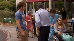 Kyle Canning, Karl Kennedy, Georgia Brooks in Neighbours Episode 6833