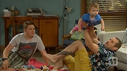 Callum Jones, Toadie Rebecchi, Nell Rebecchi in Neighbours Episode 6833