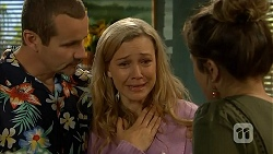 Toadie Rebecchi, Georgia Brooks, Sonya Mitchell in Neighbours Episode 6833
