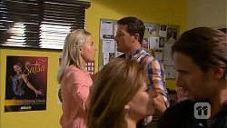 Lauren Turner, Matt Turner, Terese Willis, Josh Willis in Neighbours Episode 6833