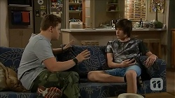 Callum Rebecchi, Bailey Turner in Neighbours Episode 6834