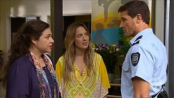 Patricia Pappas, Sonya Rebecchi, Matt Turner in Neighbours Episode 6834