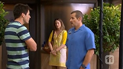 Chris Pappas, Sonya Mitchell, Toadie Rebecchi in Neighbours Episode 6835